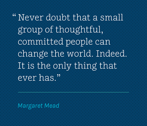 Wise Words Margaret Mead